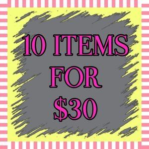 🔴10 CLEARANCE ITEMS FOR $30🔴